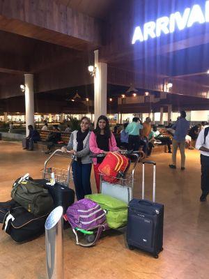 Kajal & Reshma Going To Kerala For Ayurvedic Training