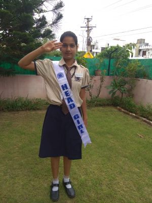 Seema Head Girl Of Narayana E-techno School